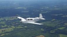 Hank Hernandez's plane