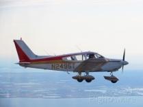 Lollie Shaw's plane